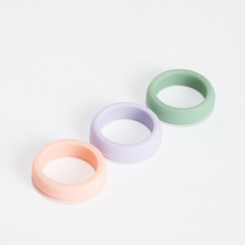 Womens Classic Silicone Ring - Pastel