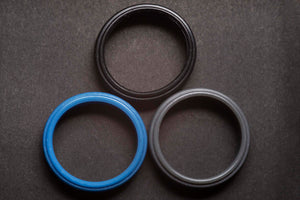 Men's Classic Silicone Step Ring - The Standard