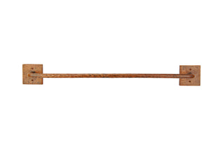 "24"" Hand Hammered Copper Towel Bar"