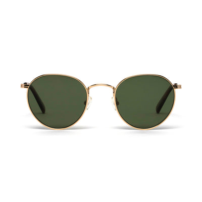 Ashton Gold Green Lens