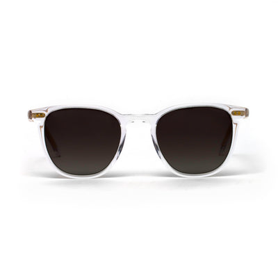 Cameron Crystal Gold Core Grey Gradient Lens