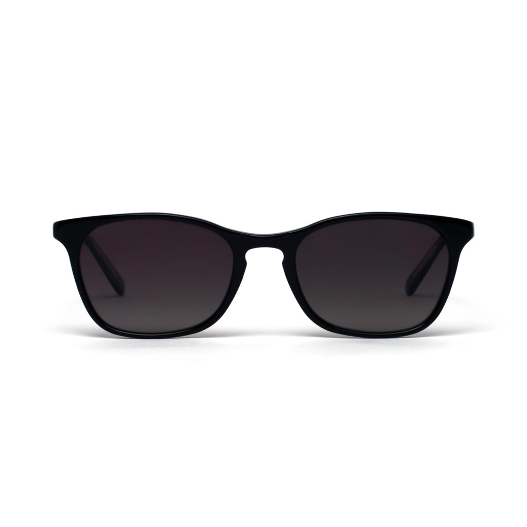 Emma Black Crystal Grey Gradient Lens