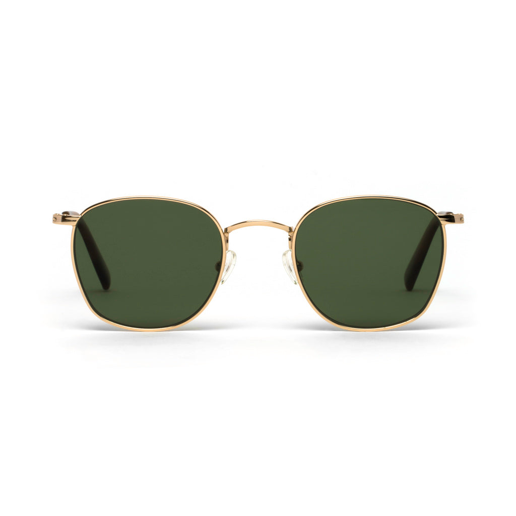 Harper Gold Green Lens