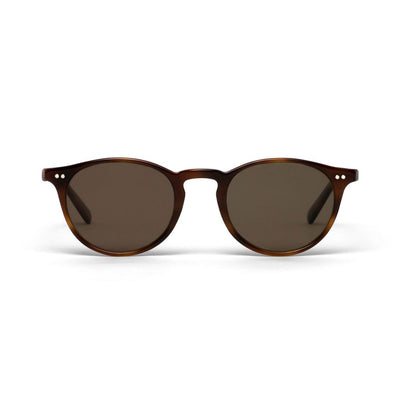 Elton Light Tortoiseshell Brown Lens