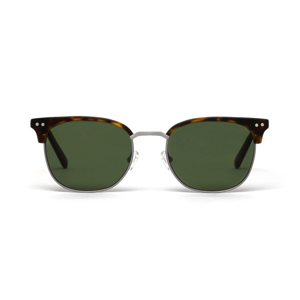 Willow Silver Tortoiseshell Matt Green Lens