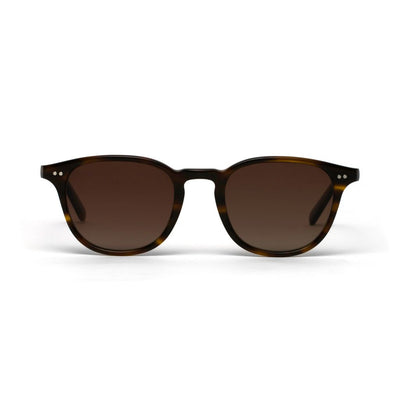 Morgan Vintage Tortoiseshell Matt Brown Lens