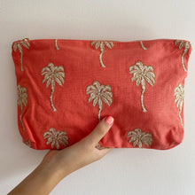 Load image into Gallery viewer, Palmier Coral Everyday Pouch