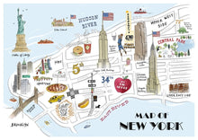 Load image into Gallery viewer, Map of New York