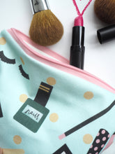 Load image into Gallery viewer, Small Cosmetics Pouch Make Up Bag