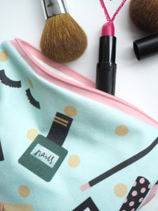 Small Cosmetics Pouch Make Up Bag