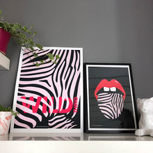 Load image into Gallery viewer, Wild Things Print Pink