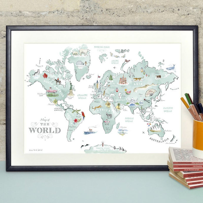 Alice Tait 'Map of The World'