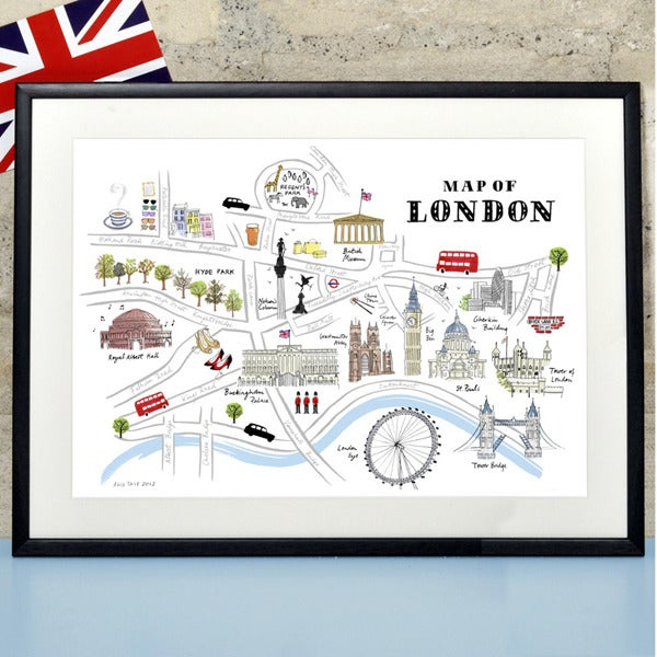 Alice Tait 'Map of London'