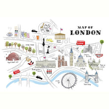 Load image into Gallery viewer, Alice Tait 'Map of London'