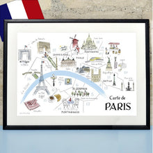 Load image into Gallery viewer, Alice Tait 'Map of Paris'