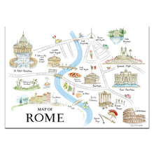 Load image into Gallery viewer, Map of Rome