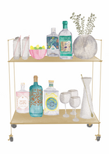 Load image into Gallery viewer, Gin Bar Cart Print