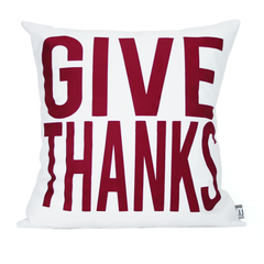 Give Thanks (burgundy)