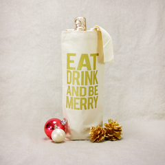 Be Merry Wine Tote