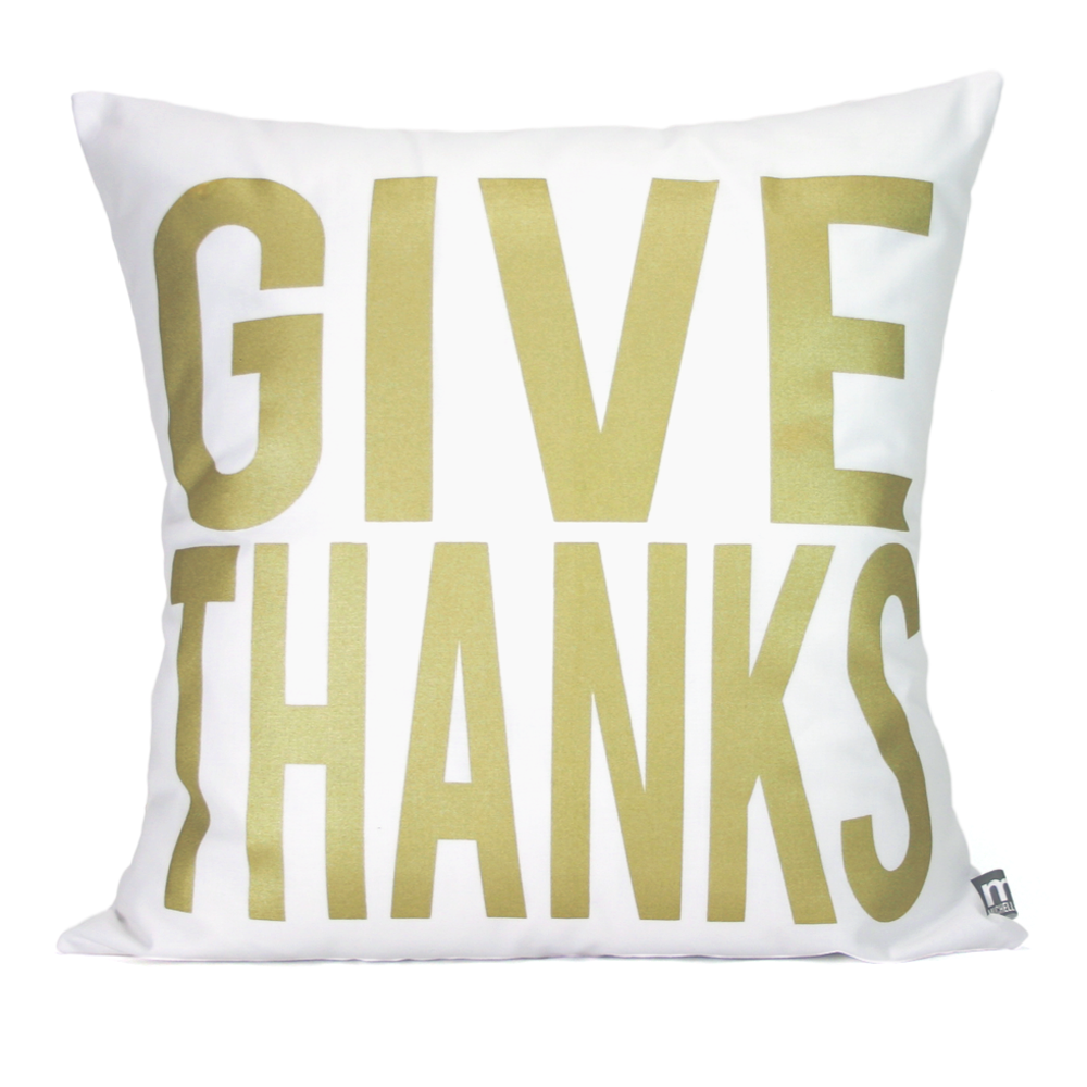 Give Thanks (gold)