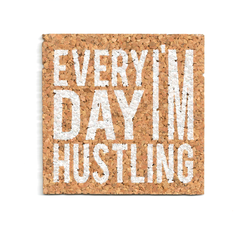 Hustle (cork coasters)