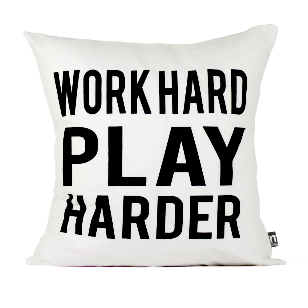 Play Harder (white)