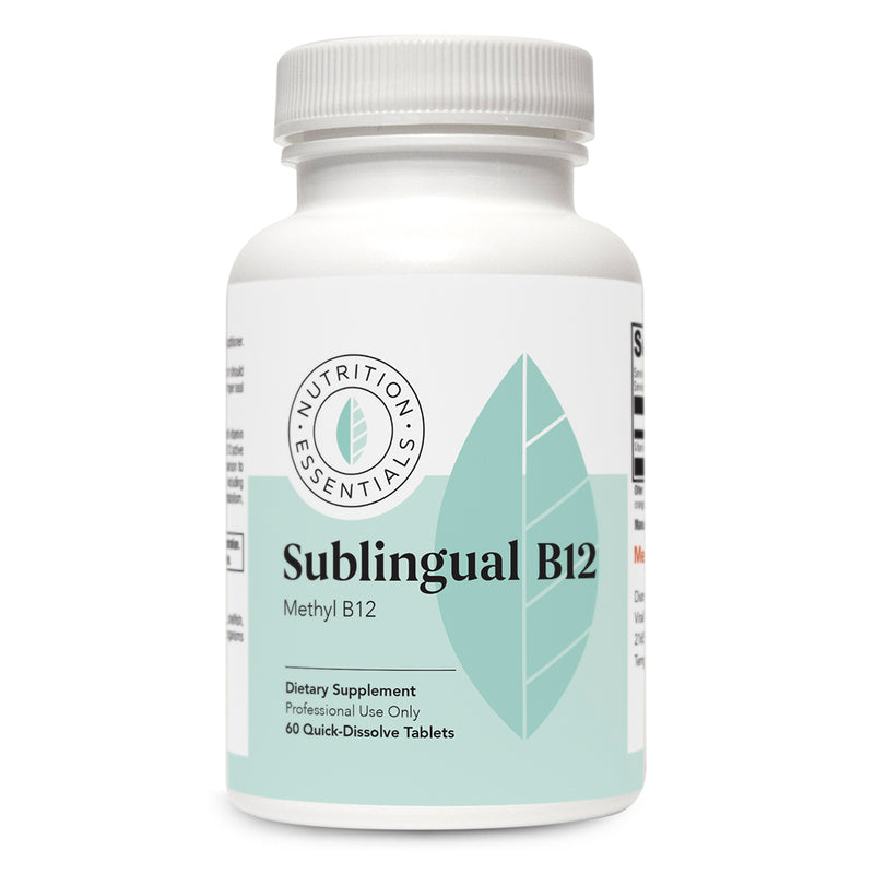 Sublingual B12 Front