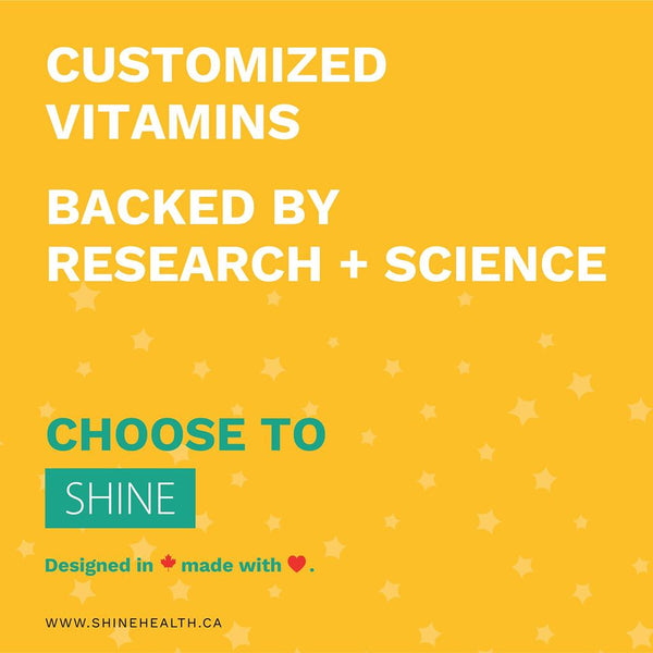 customized vitamins backed by research and science