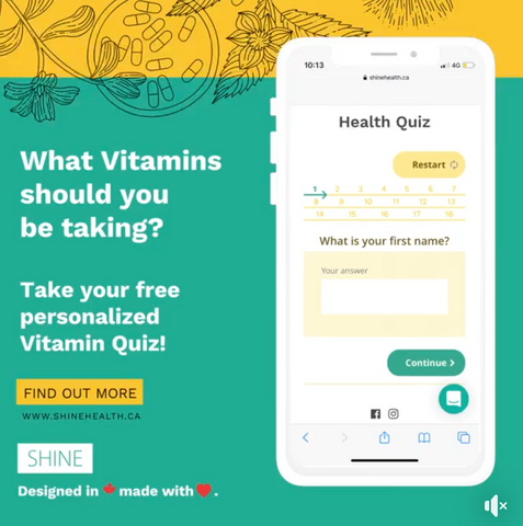 Best free personalized vitamin health quiz