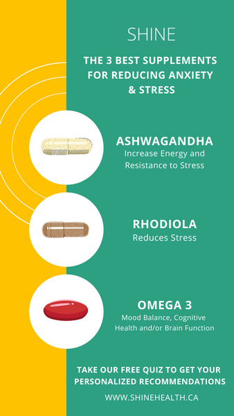 Best supplements to reduce stress and anxiety