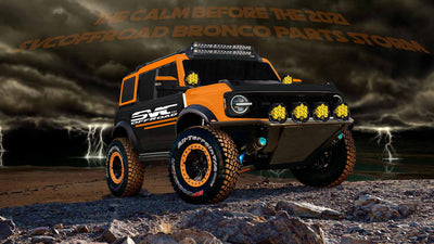 2021 SVCOFFROAD Ford Bronco Parts Storm