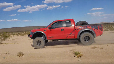 Gen 1 Ford Raptor SVC Offroad Mid Travel in Action