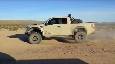 SVC Offroad Podium Package Testing for the Ford Raptor