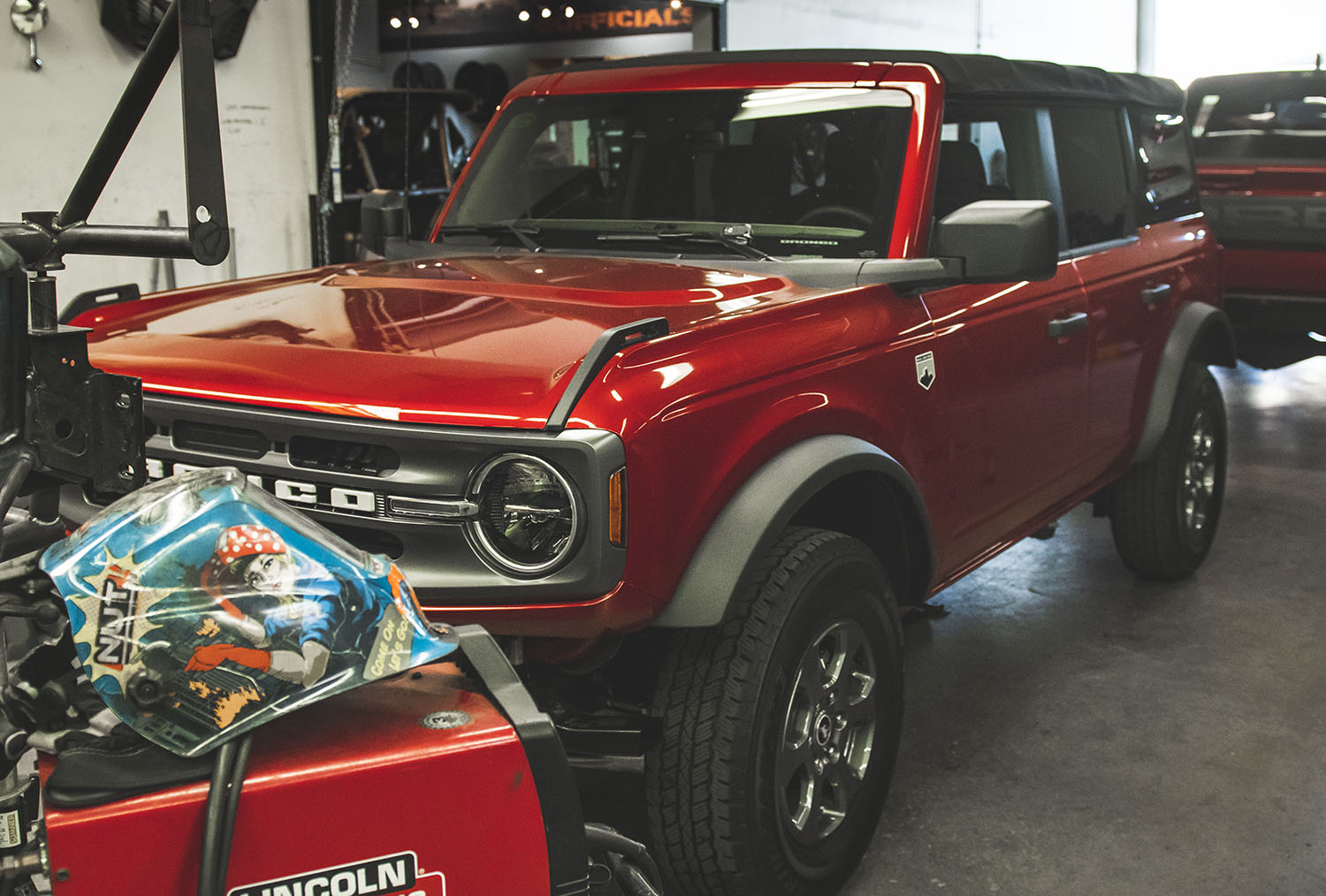 ford bronco at svc offroad ready for new suspension