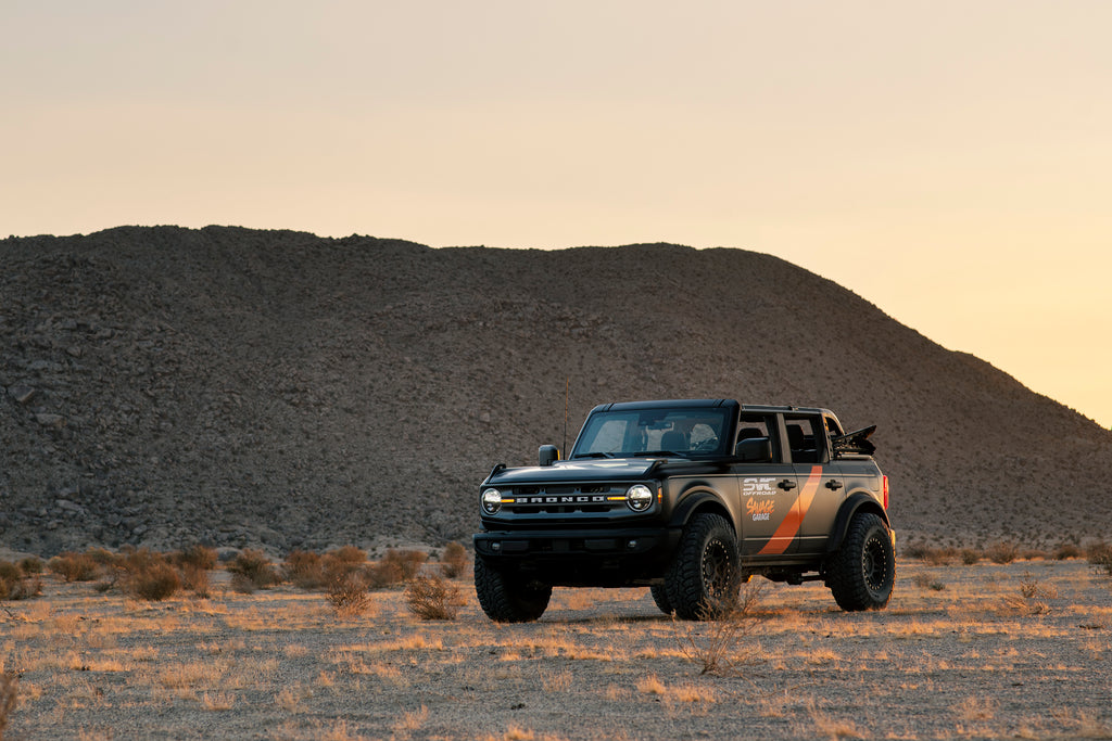 SVC Offroad new 2021 Ford Bronco customized with offroad parts.