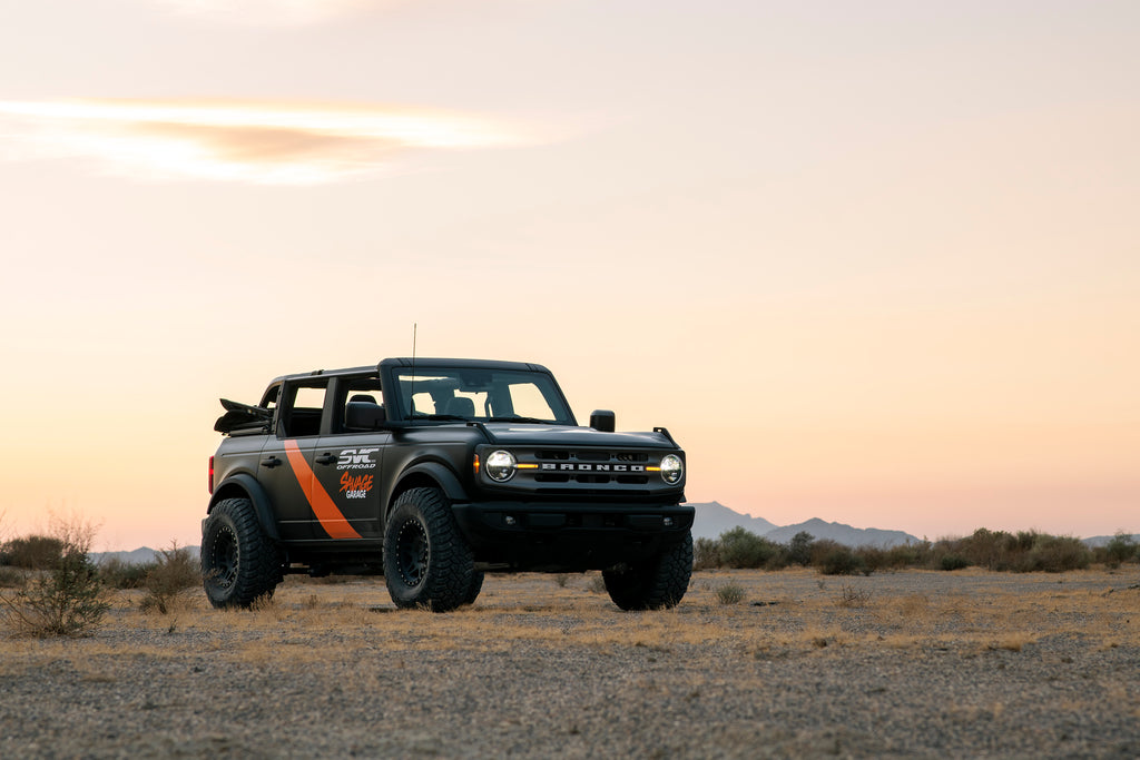 SVC Offroad New 2021 Ford Bronco build with offroad armor and suspension