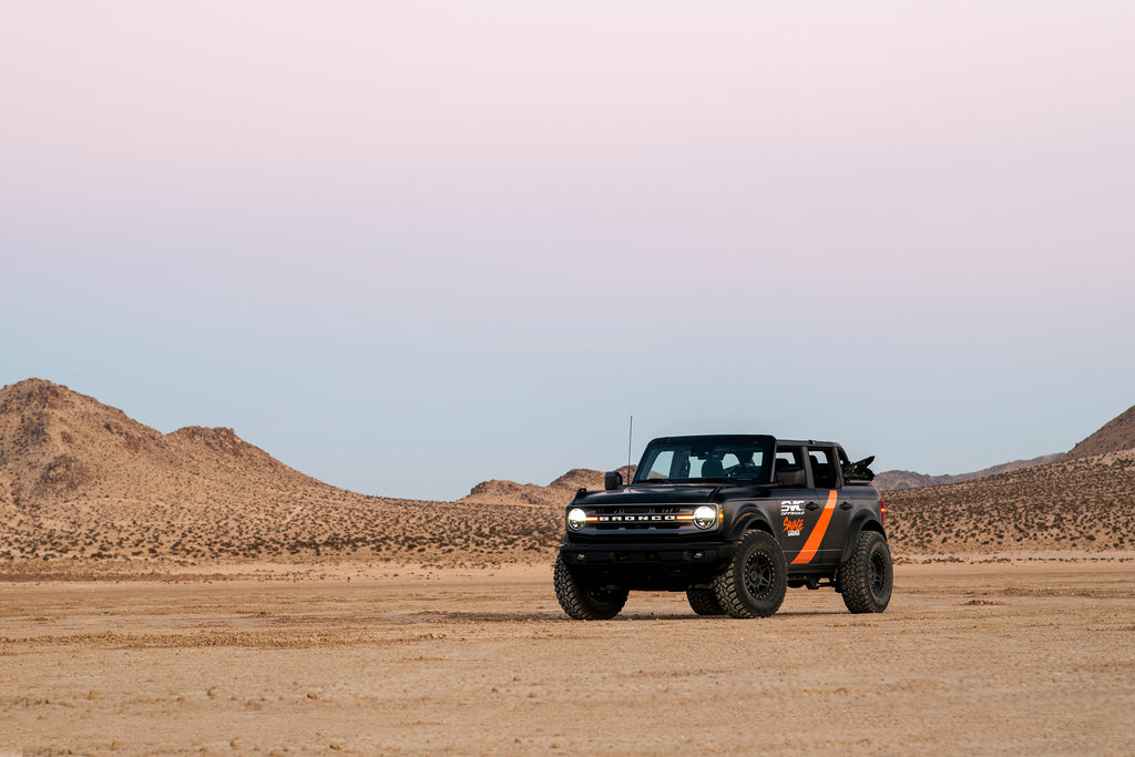 SVC New Ford Bronco with offroad parts