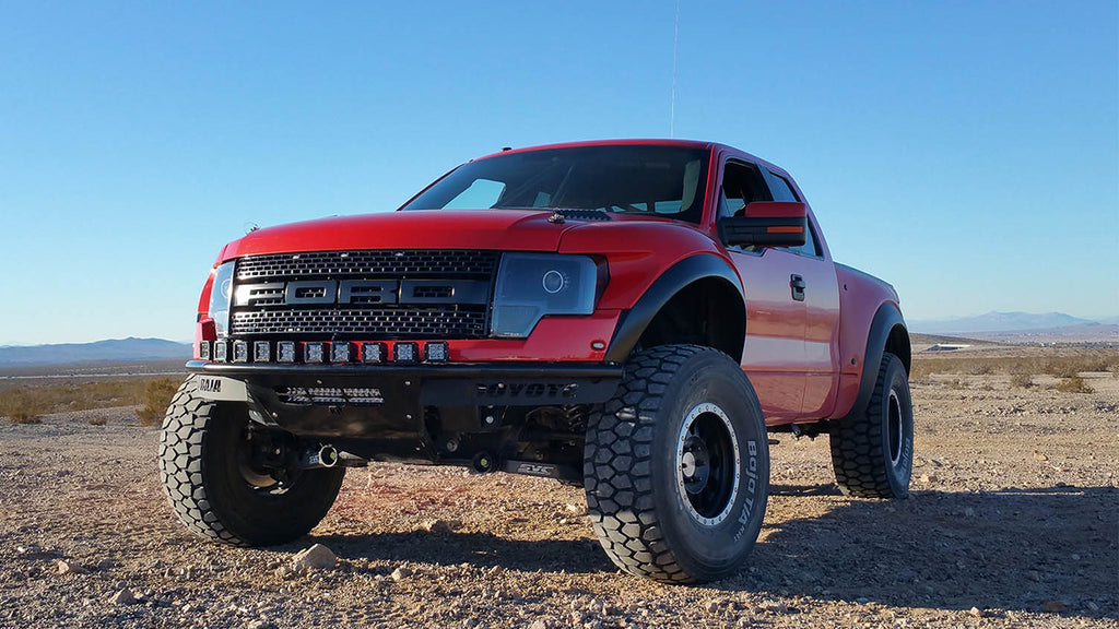 Kirk S' Gen 1 Raptor with SVC Offroad parts