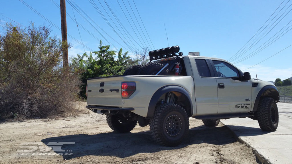 Mike P's Gen 1 Raptor with SVC Offroad parts