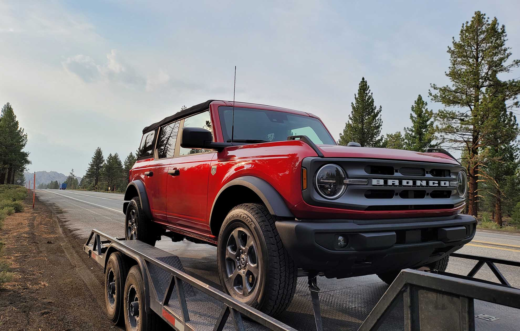 2021 ford bronco ready for aftermarket off road parts at svc offroad