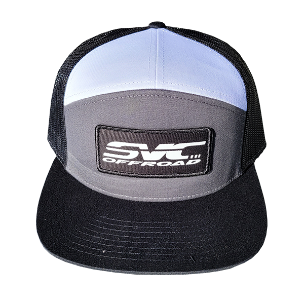 SVC Offroad White/Black/Gray Snapback