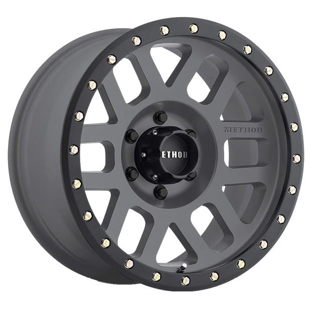 Method Race Wheels 309 Grid - Titanium - SVC Offroad
