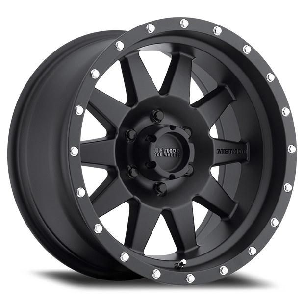 Method Race Wheels 301 Standard - Matte Black - Ranger Fitment - SVC Offroad
