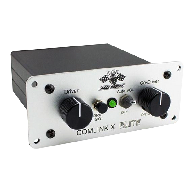 PCI ComLink X Elite Intercom - SVC Offroad