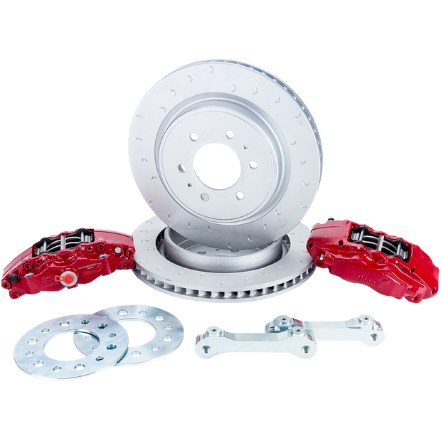 Gen 2 Ford Raptor/F150 Rear Alcon Big Brake Kit - SVC Offroad