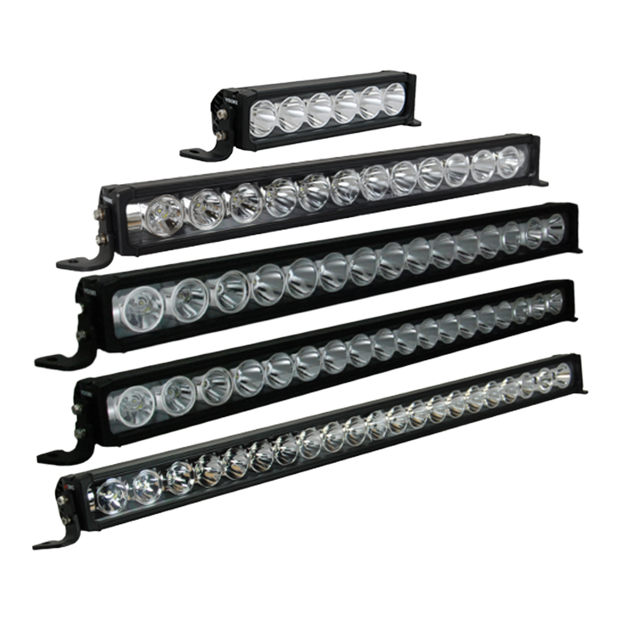 Vision X XPR LED Light Bars - SVC Offroad