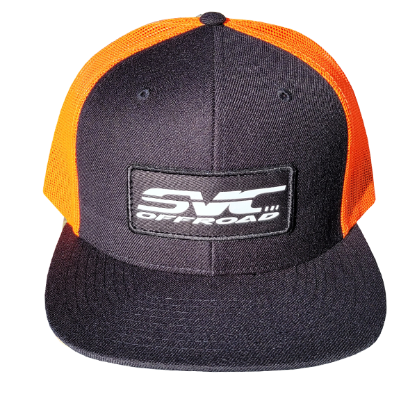 SVC Offroad Vibrant Orange/Black Trucker Cap - SVC Offroad