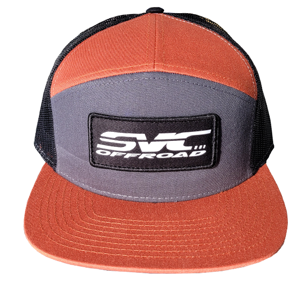 SVC Offroad Burnt Orange/Gray/Black Snapback - SVC Offroad