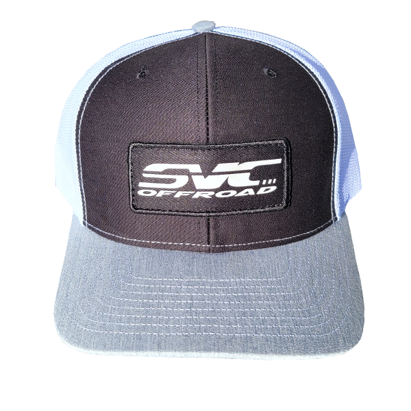 SVC Offroad White/Black/Gray Trucker Cap
