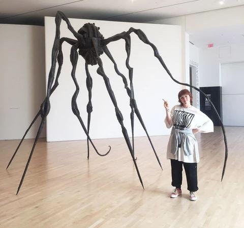 A closer look at 'Spiders by Louise Bourgeois' at SFMOMA with Gab